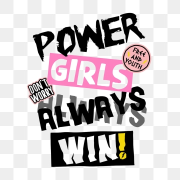 Girl Power PNG Images.
