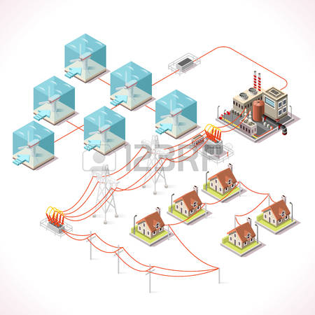 5,944 Power Grid Stock Illustrations, Cliparts And Royalty Free.