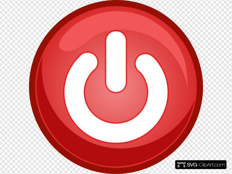 Power Button Off Clip art, Icon and SVG.