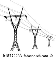Power line Clip Art Royalty Free. 30,500 power line clipart vector.