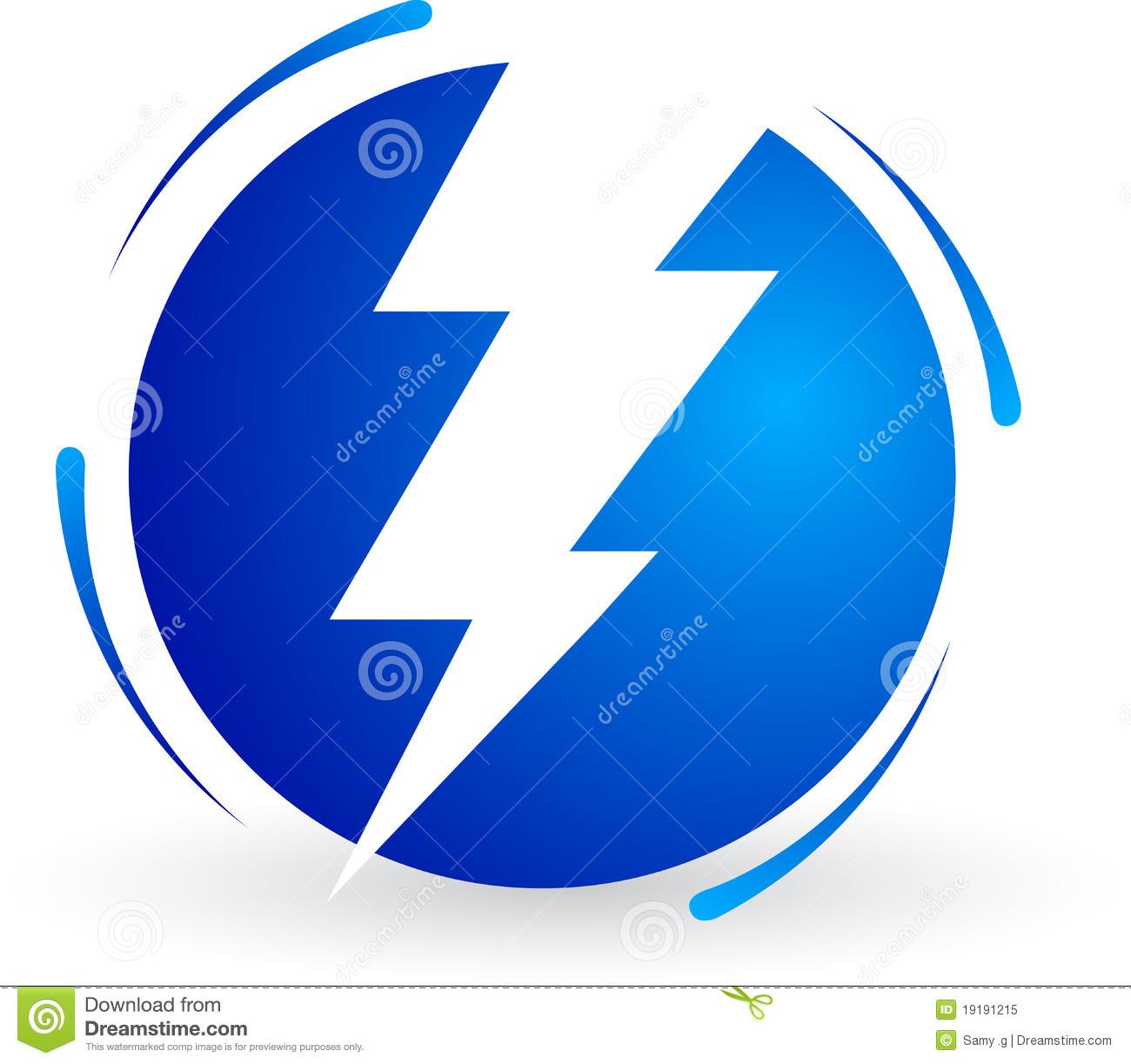 Power Logo Clipart.