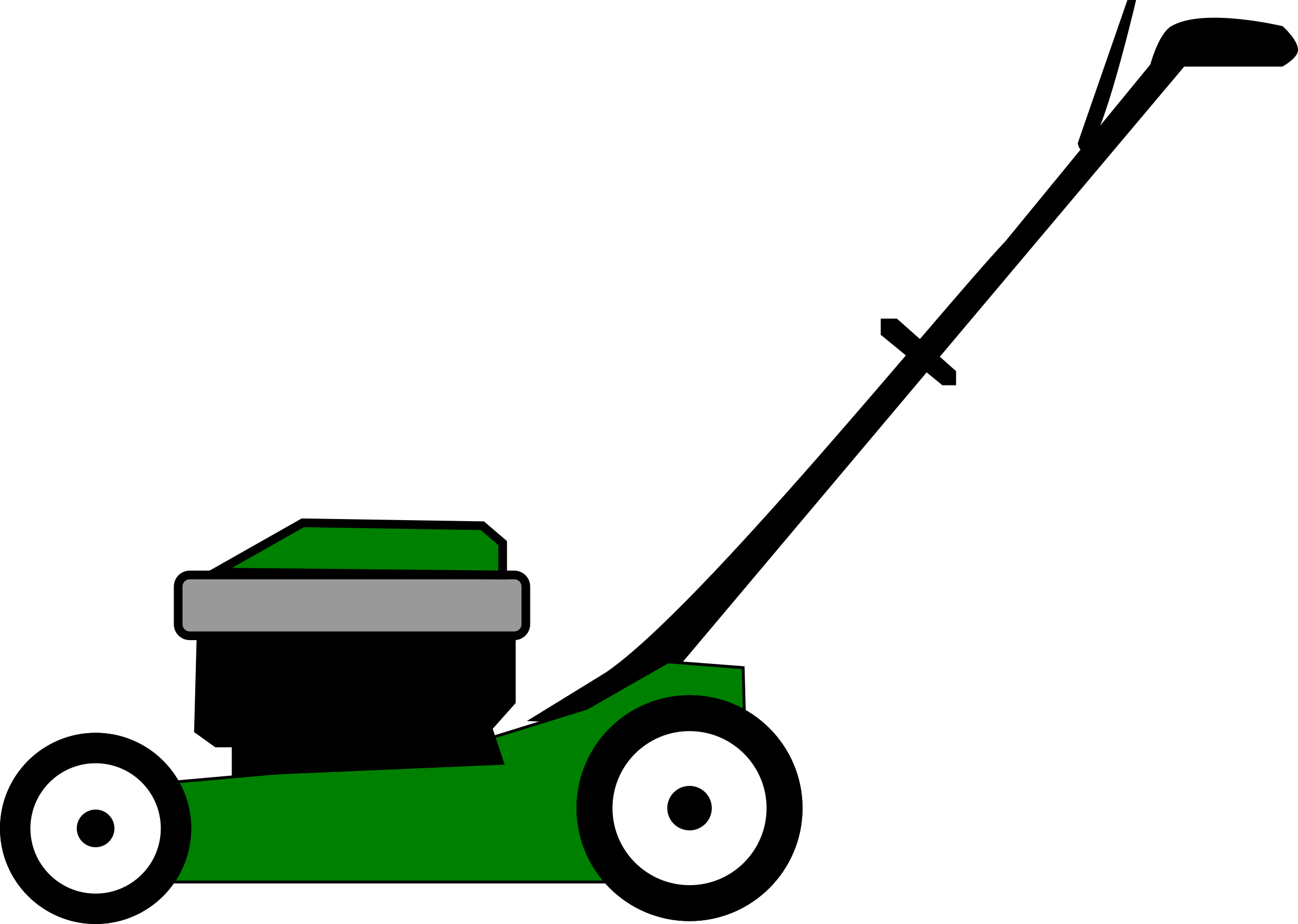 Lawnmower Clip Art.