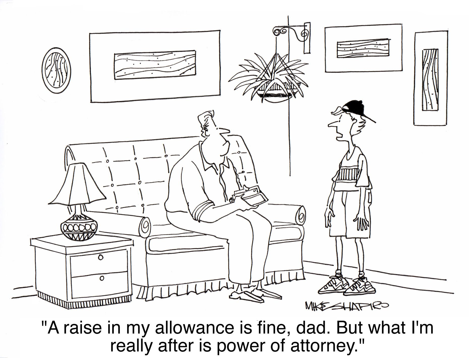 Wills And Power Of Attorney Clipart.