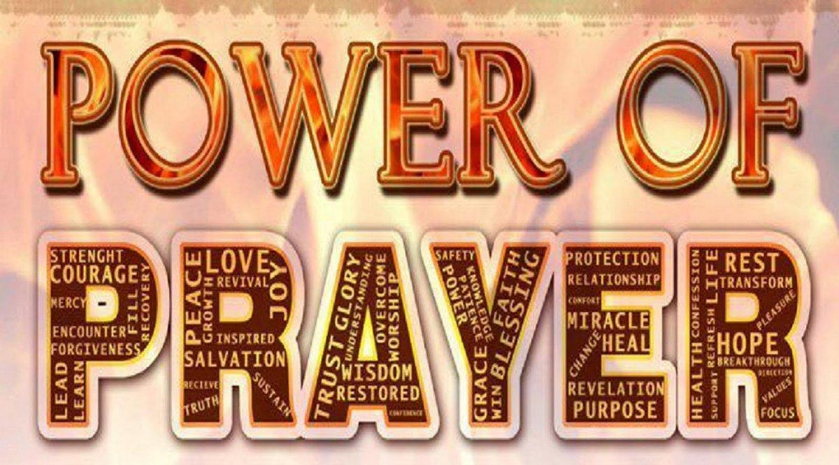 prayermatters hashtag on Twitter.