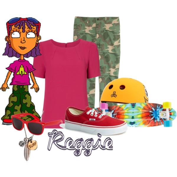 Reggie from Rocket Power.
