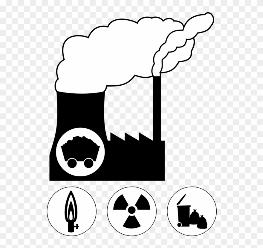 Nuclear Power Plant Power Station Computer Icons Radioactive.