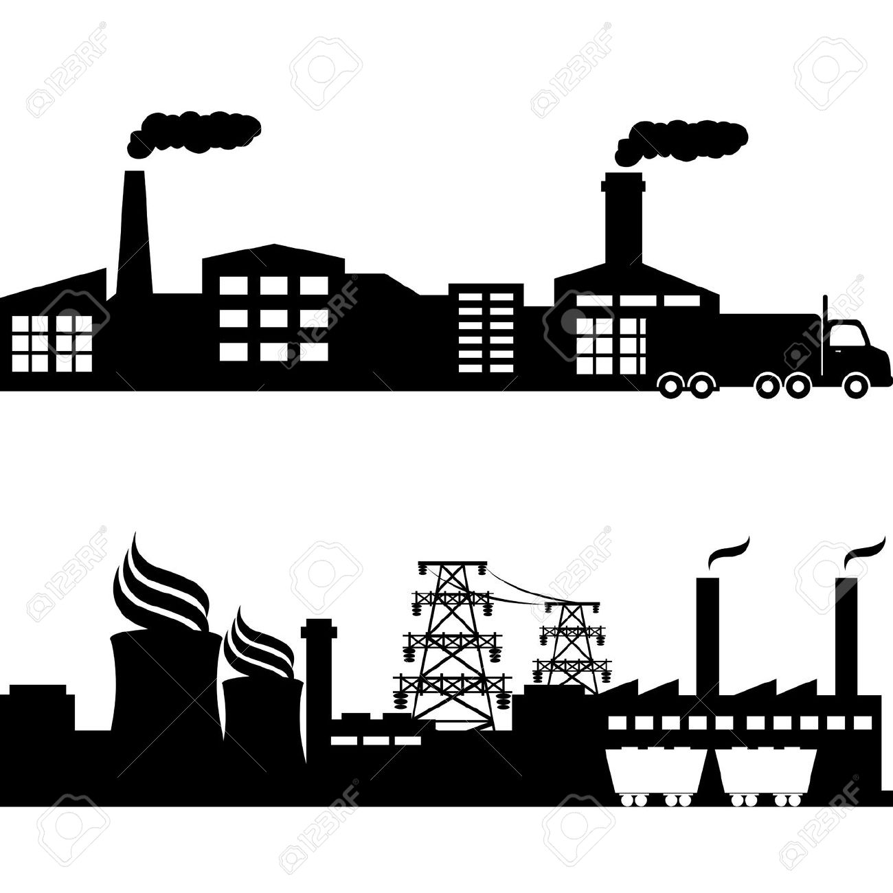 Power plant clipart - Clipground