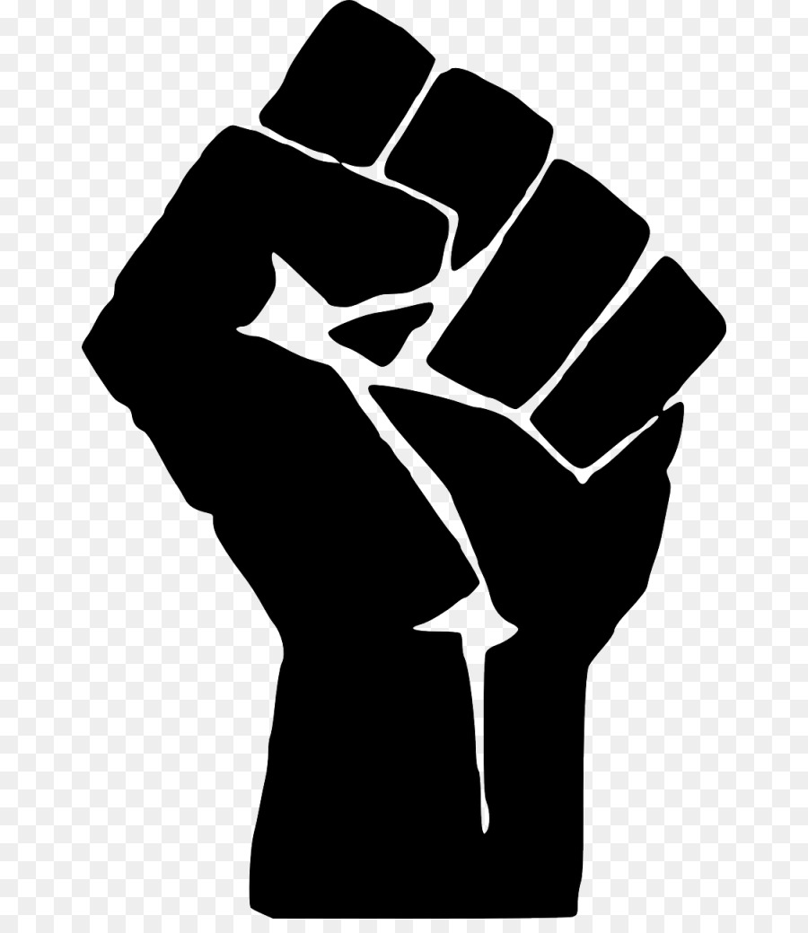 Fist White png download.