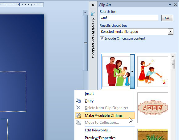 Clipart PowerPoint Collection.