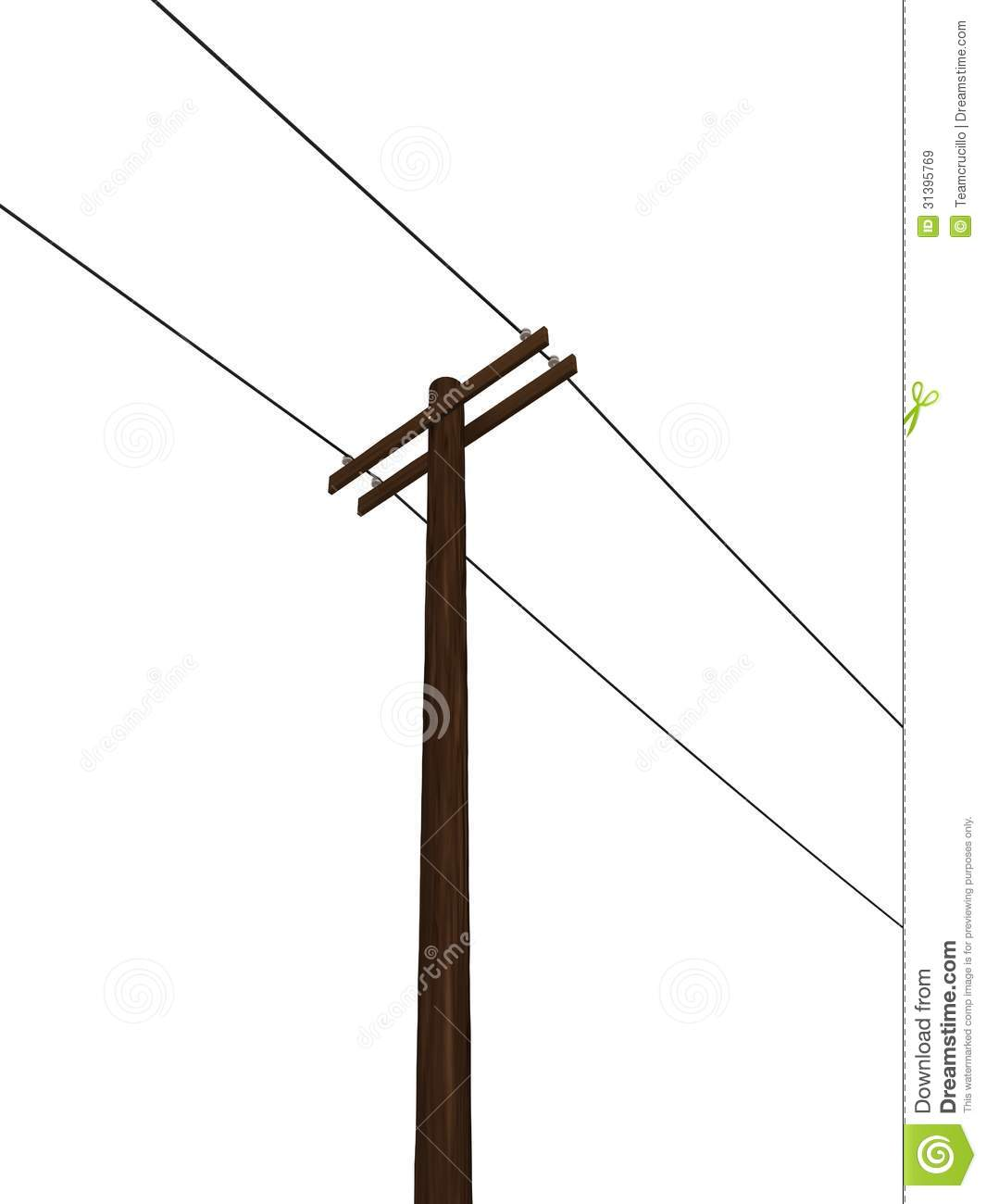 Power Pole Clipart.