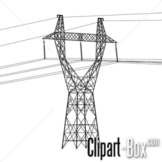 CLIPART ELECTRIC POLE.