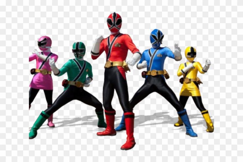 Power Rangers Clipart.