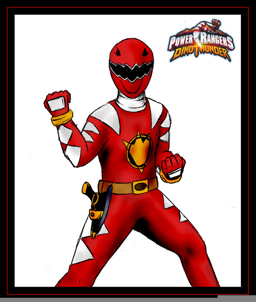 Red power ranger clipart 3 » Clipart Station.