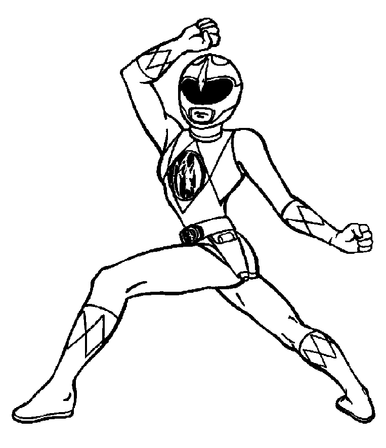 Free Power Ranger Clipart Black And White, Download Free.