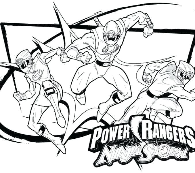 Power Rangers Clipart Black And White.