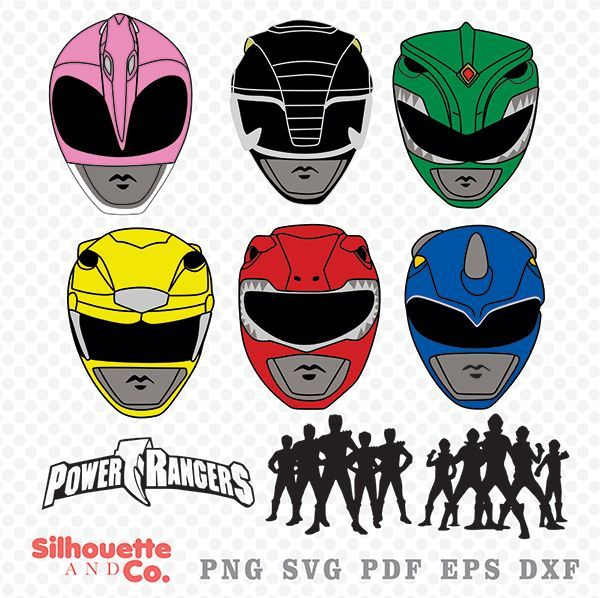 Download Free png POWER RANGERS SVG, DXF, POWER RANGERS.