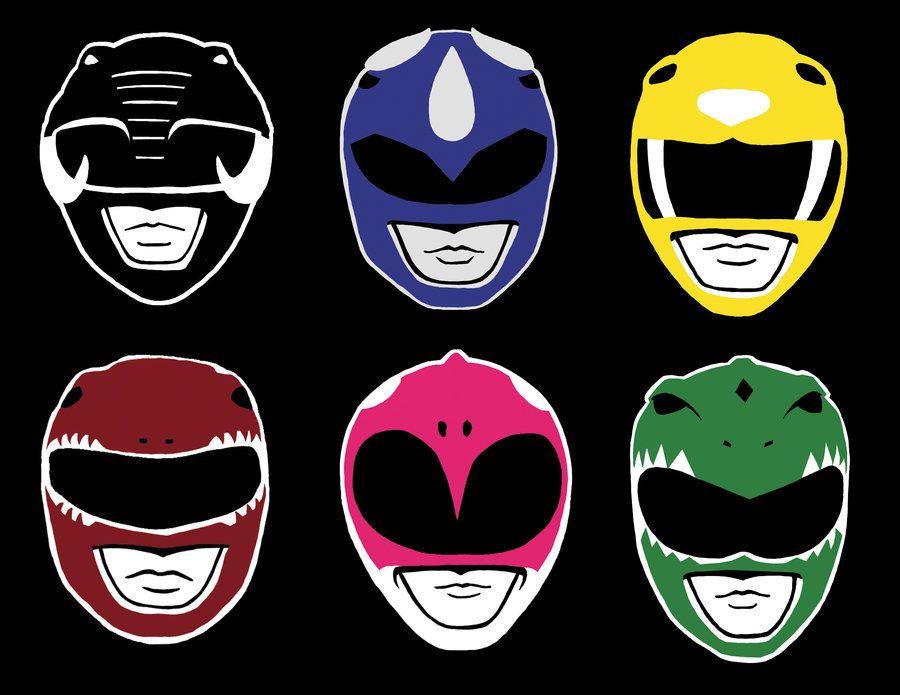 VECTOR Go Go Power Rangers by =Miss.