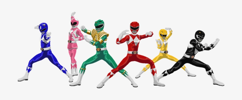 Mighty Morphin Power Rangers Png.