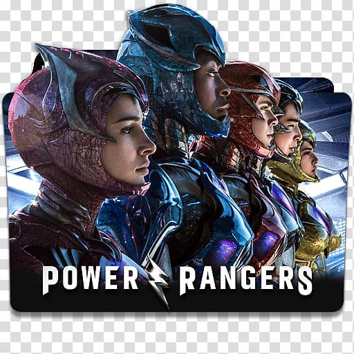 Power Rangers Folder Icon , Power Rangers v transparent.