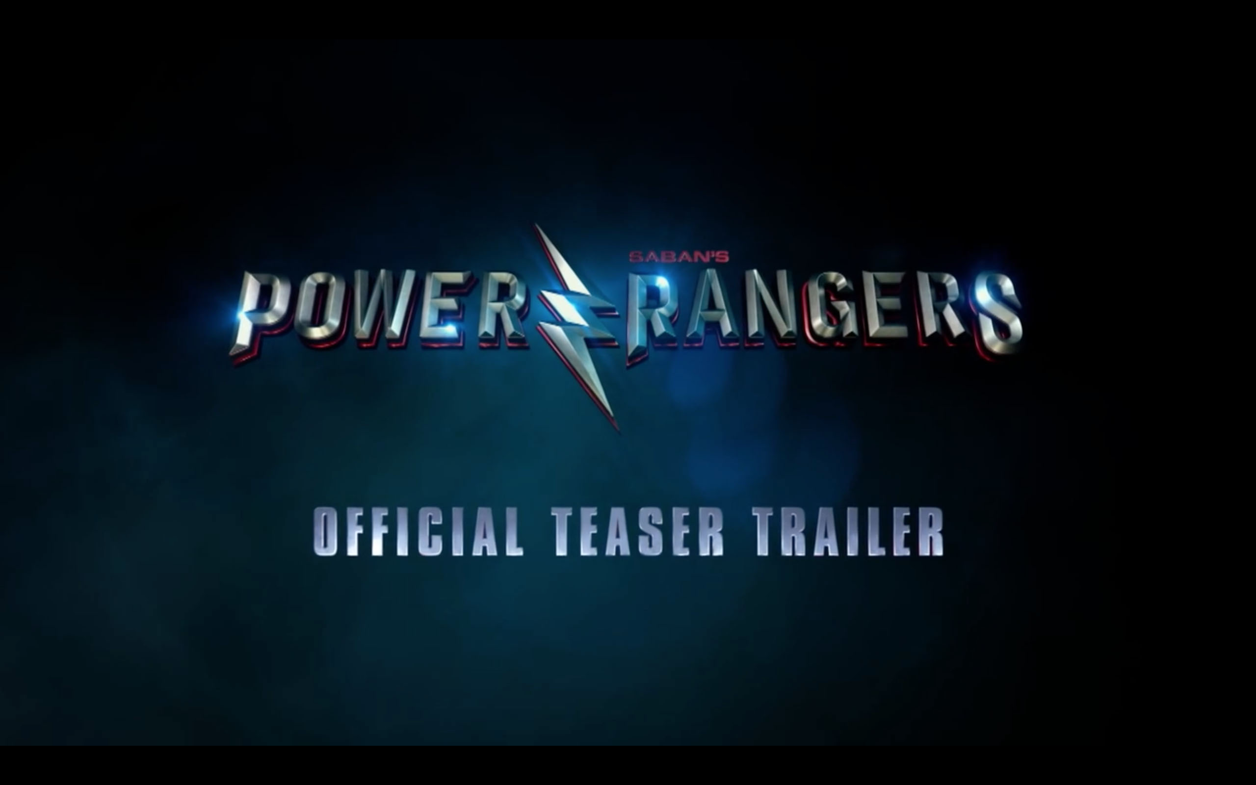 The first trailer for \'Power Rangers\' is here! (Updated with.