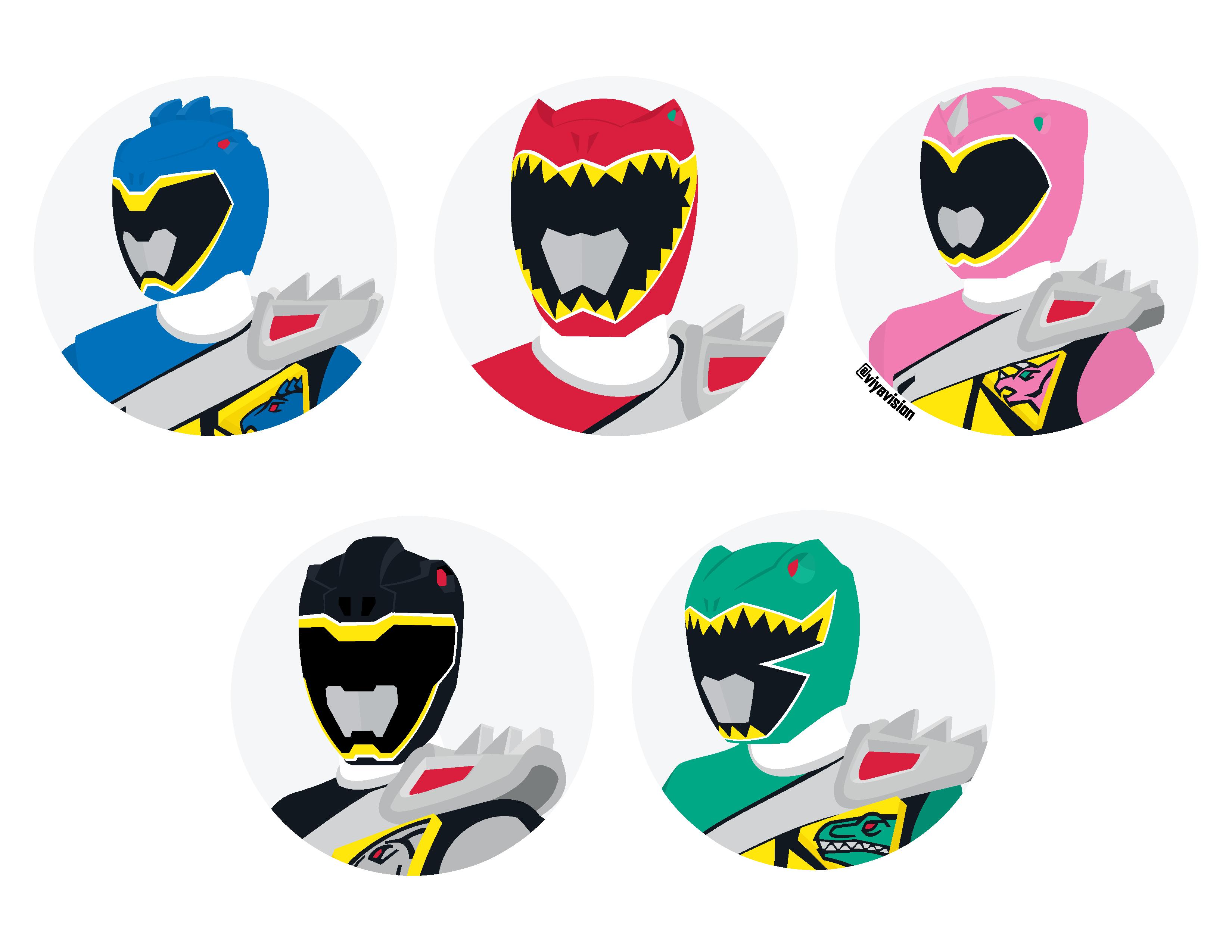 Power Rangers Clipart.