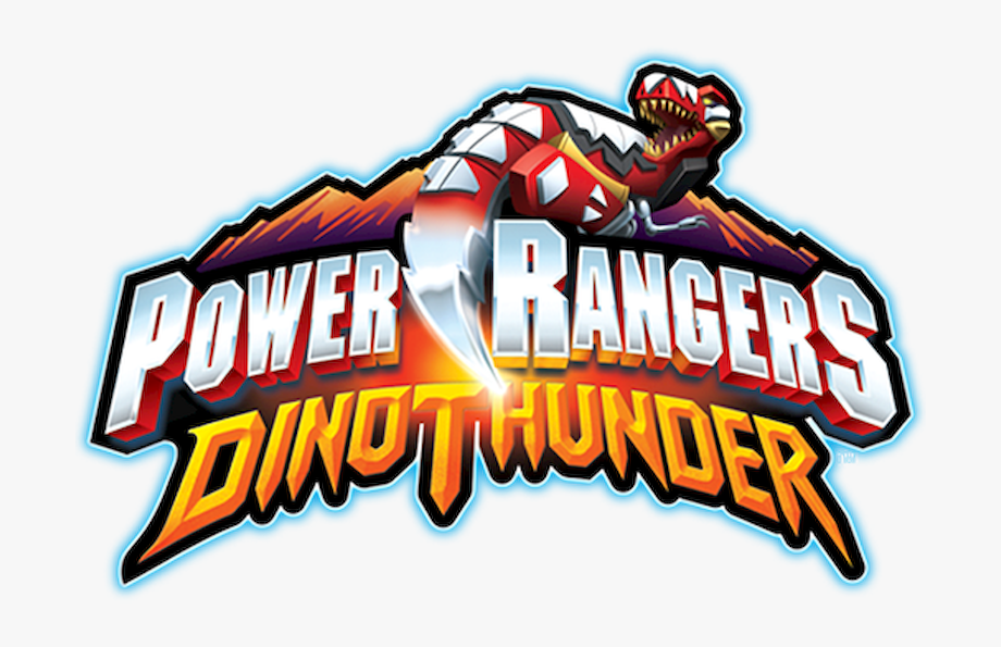 Power Rangers Dino Thunder Logo Png , Transparent Cartoon.