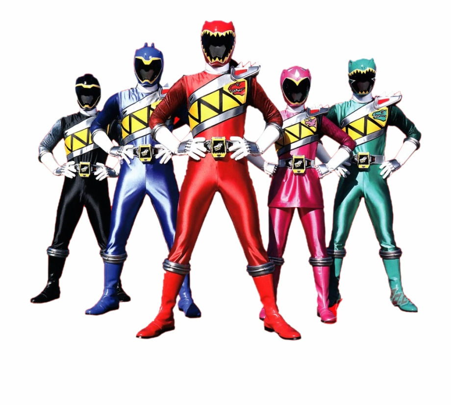 Power Rangers Dino Charge.
