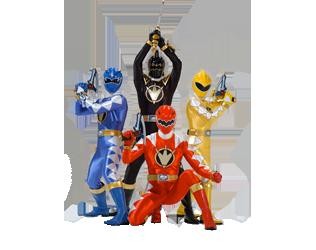 Dino Thunder Rangers.