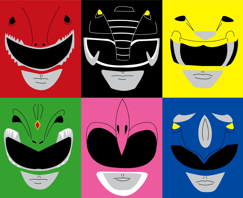 Power Ranger Pop Art.