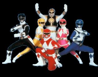Power Rangers Six transparent PNG.