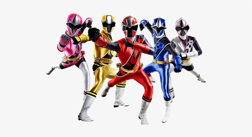 Power Rangers Ninja Steel.