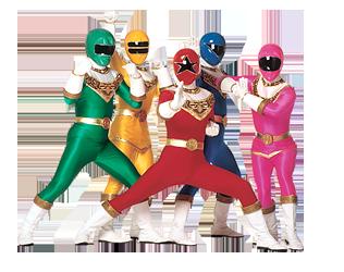Power Rangers PNG Transparent Images.