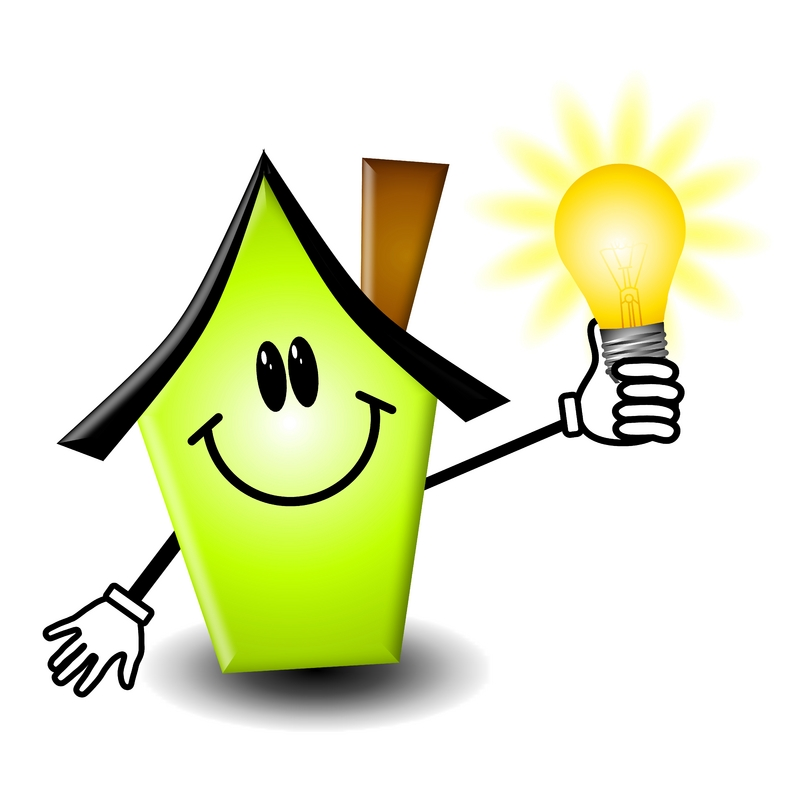 Clipart on save electricity.