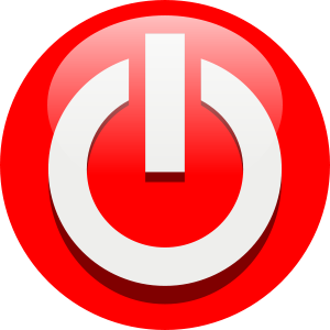 Power off icon Clipart, vector clip art online, royalty free.