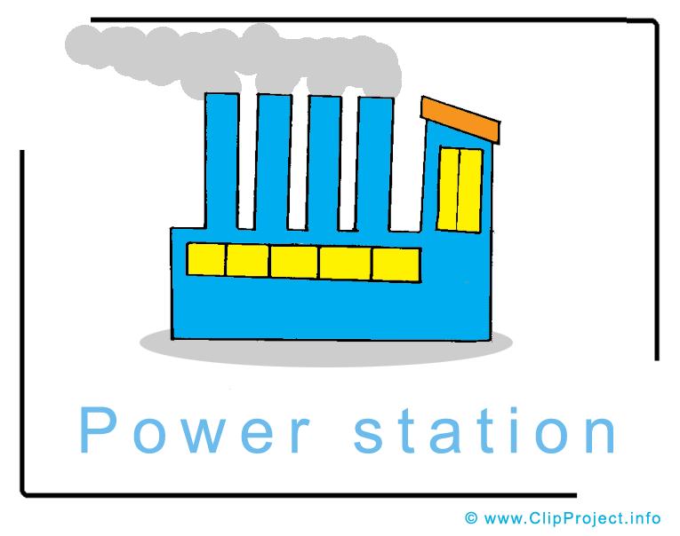 Power Plant Clipart.