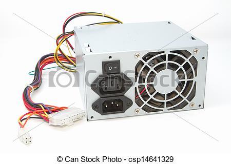 Computer Power Supply Fan Clip Art.