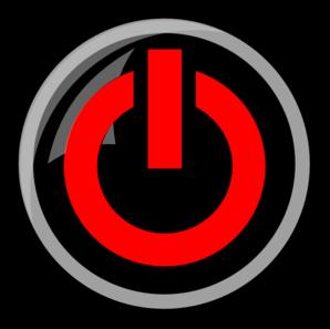Red Power Button Clip Art at Clker.com.