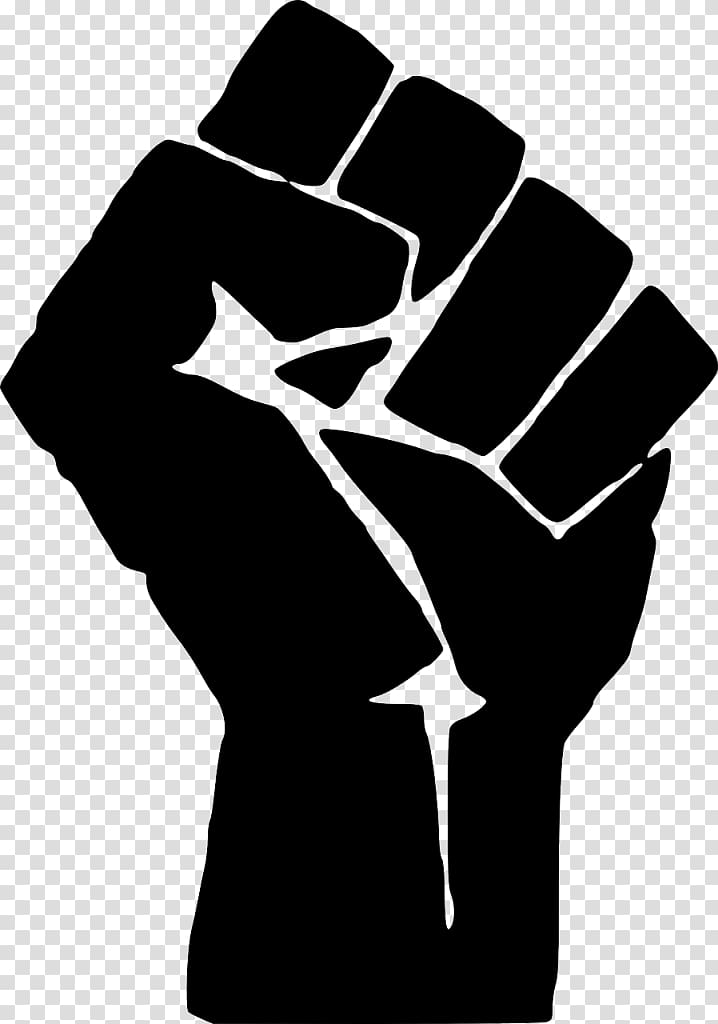 Fist Computer Icons , the power of the people transparent.