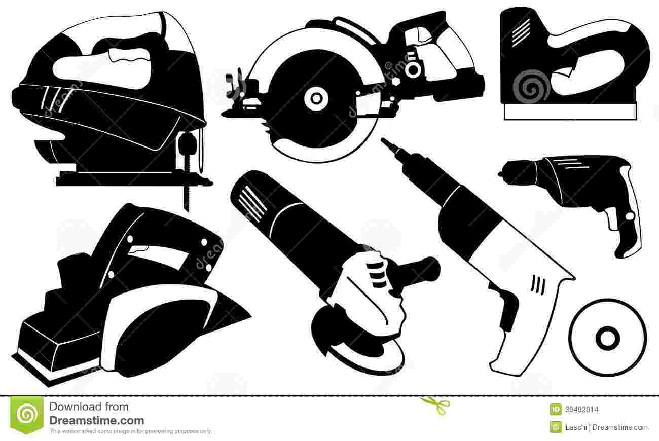 Best Cliparts: Free Power Tool Clipart Wrench Power Tools.