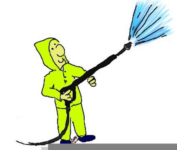 Free Clipart Power Washing.