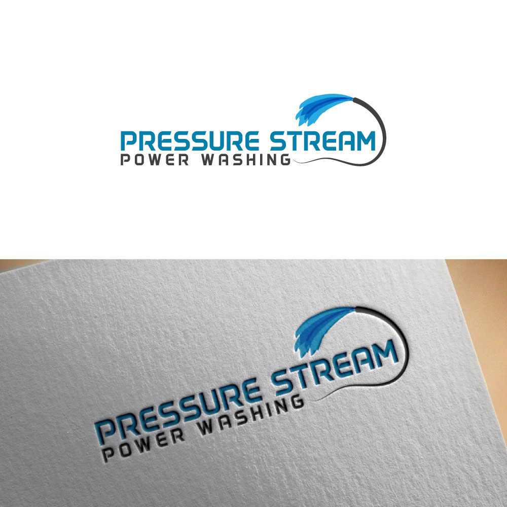 Business Logo Design for PRESSURE STREAM POWER WASHING by.