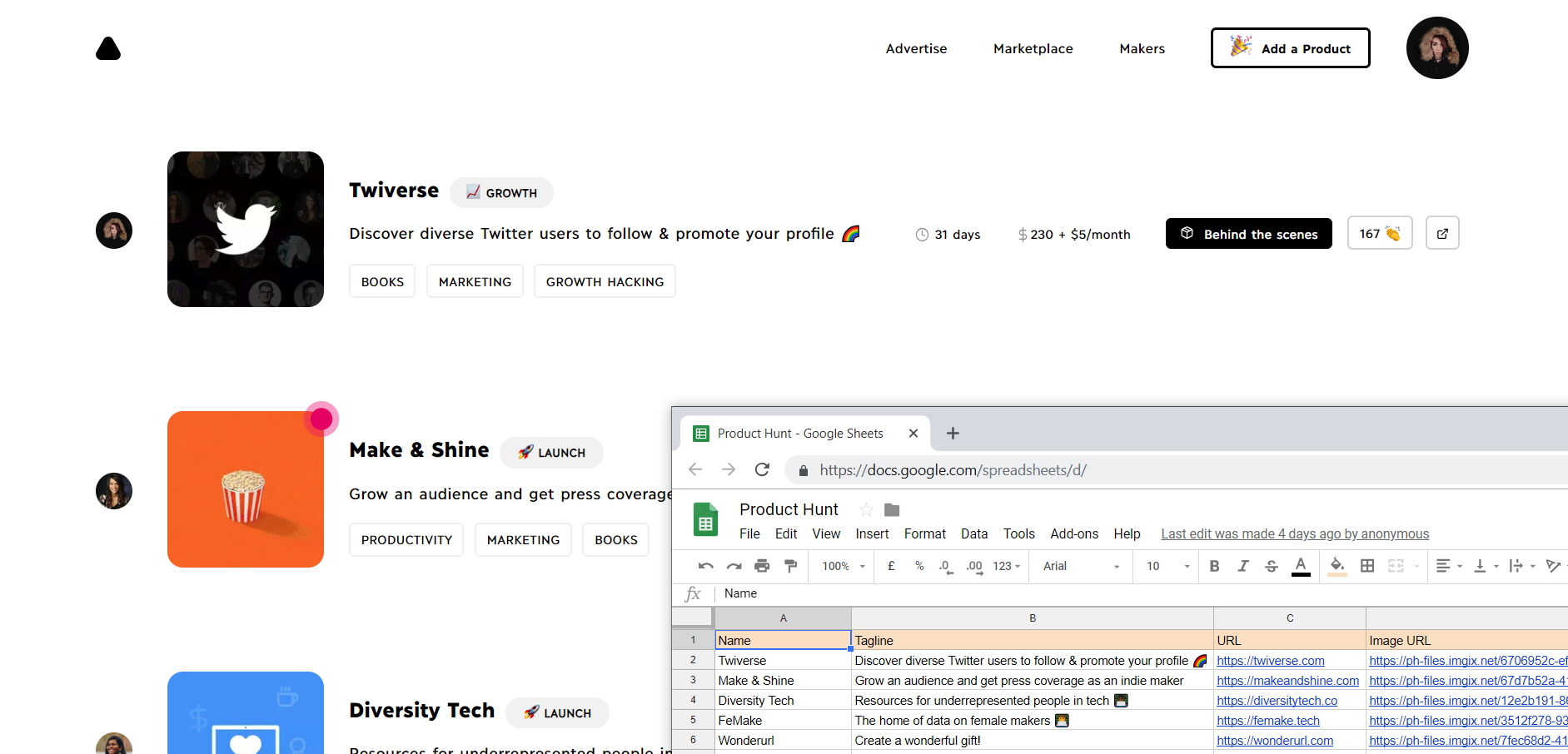 How to use Google Sheets as a CMS or a database.