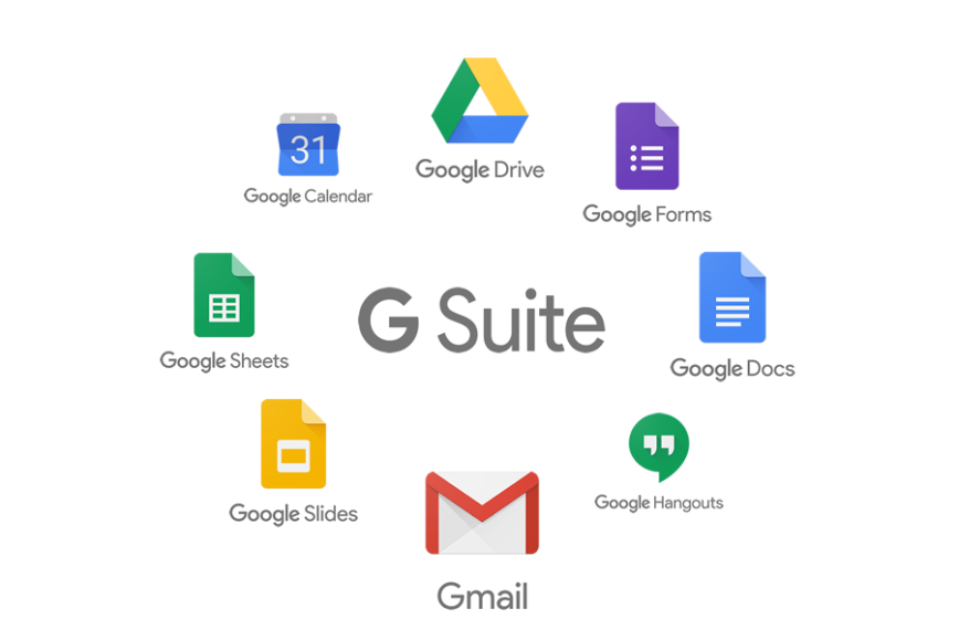 Email accounts powered by Google G Suite at Panamaserver.com.