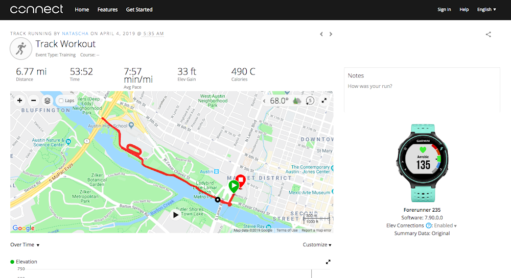 Pick up the pace with three fitness apps, powered by Google Maps.