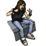Clip Art Anger Management Teens Clipart.