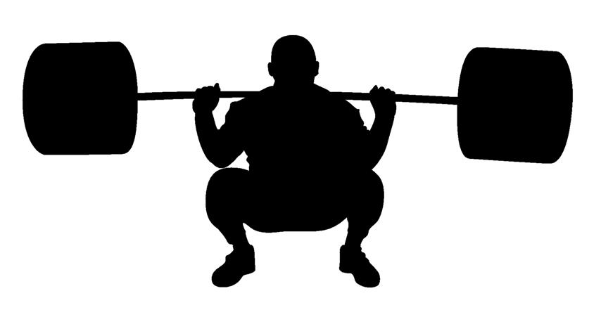Collection of Powerlifting clipart.