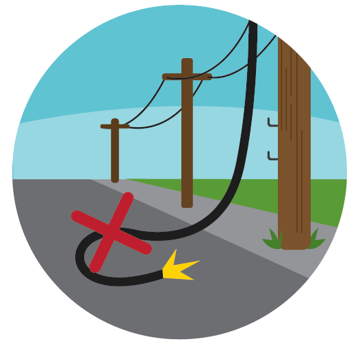powerline to house clipart - Clipground