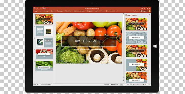 Microsoft PowerPoint 2016 Step By Step Presentation Program.