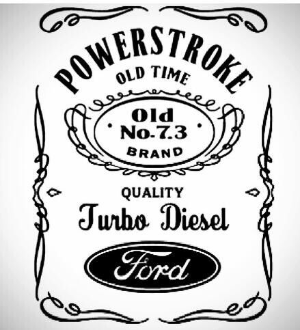 Ford Powerstroke Turbo Diesel.