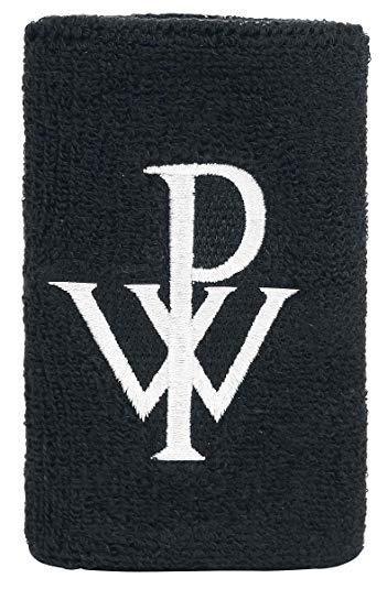 Powerwolf Logo Wrist Band Black: Amazon.co.uk: Jewellery.